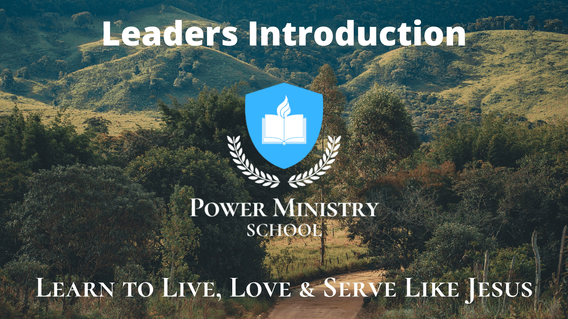 Leaders Introduction